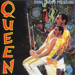 Front Cover Queen - Done Under Pressure