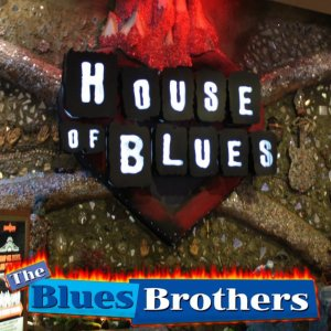 Front Cover - The Blues Brothers - Live at the House of Blues
