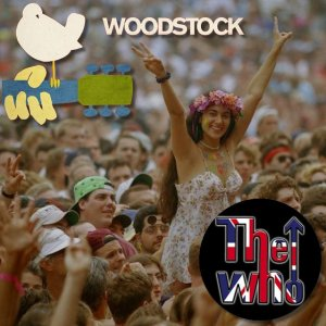 Front Cover The Who - Live At Woodstock Festival