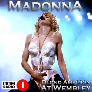 Front Cover Madonna - Blond Ambition At Wembley