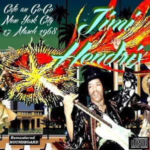 Front Cover Jimi Hendrix - Cafe au Go-Go