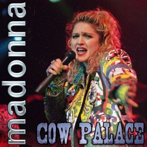 Front Cover Madonna - Live at Cow Palace