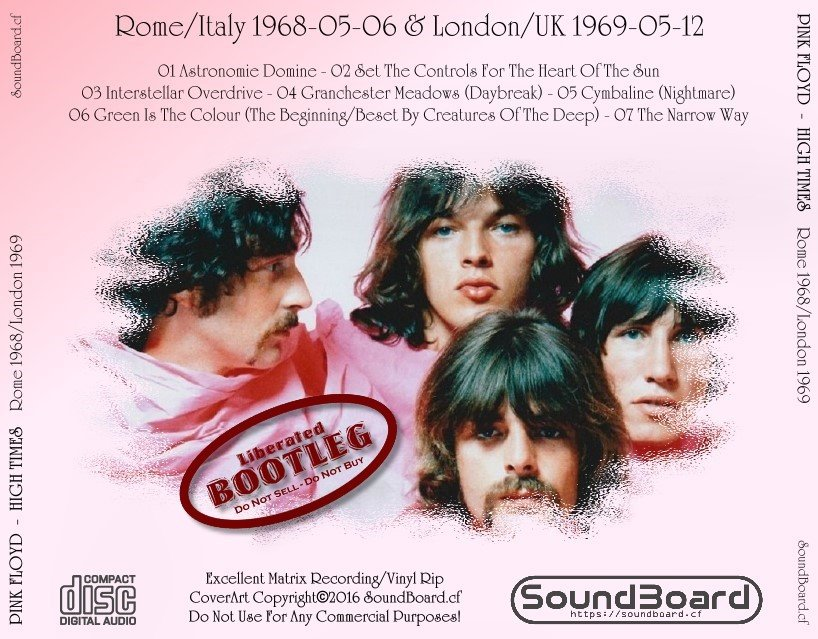 SoundBoard - Pink Floyd - High Time - Rome Italy 1968-05-06 and