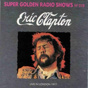 Front Cover Eric Clapton - Live in London 77
