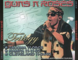 Front Cover Guns N' Roses - Trilogy 2002